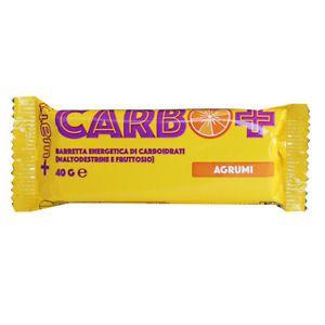 + Watt - Carbo + barretta 40 gr. Agrumi