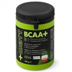 + Watt - BCAA 8.1.1. arancia 100 gr.