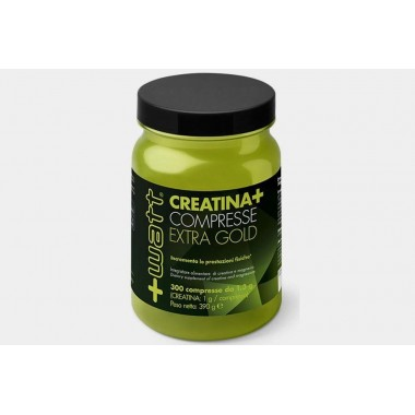 + Watt - Creatina Extra Gold 300 cpr