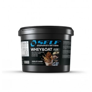 SELF - WHEY&OAT GR. 900 chocolate flavours