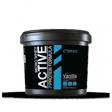 SELF - MICRO WHEY ACTIVE 1 kg. vaniglia